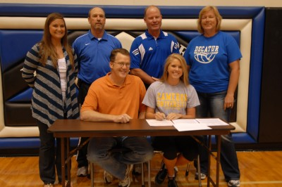 Carpenter signs letter of intent to Cameron University
