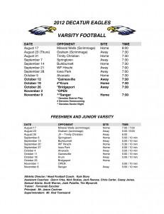2012-2013 Varsity Football