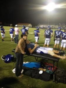 Senior injured, out for season