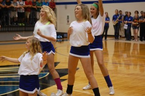 Freshmen cheerleaders deserve respect