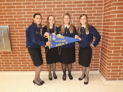 FFA quiz team advances to state