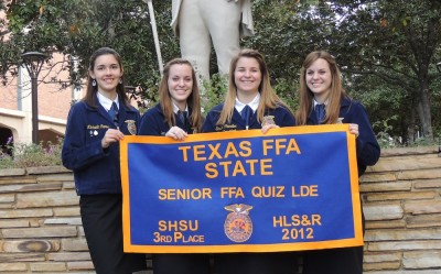 Senior FFA ranks third in state