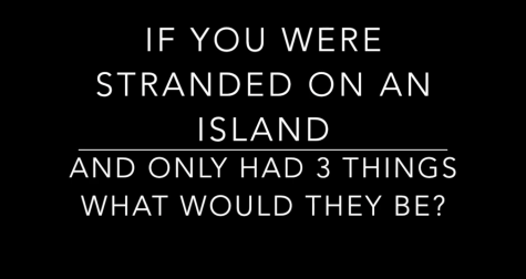Video: What Would You Bring On An Island?