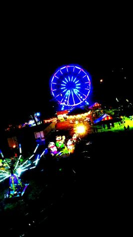A view of the ferris wheel and more as seen at Reunion