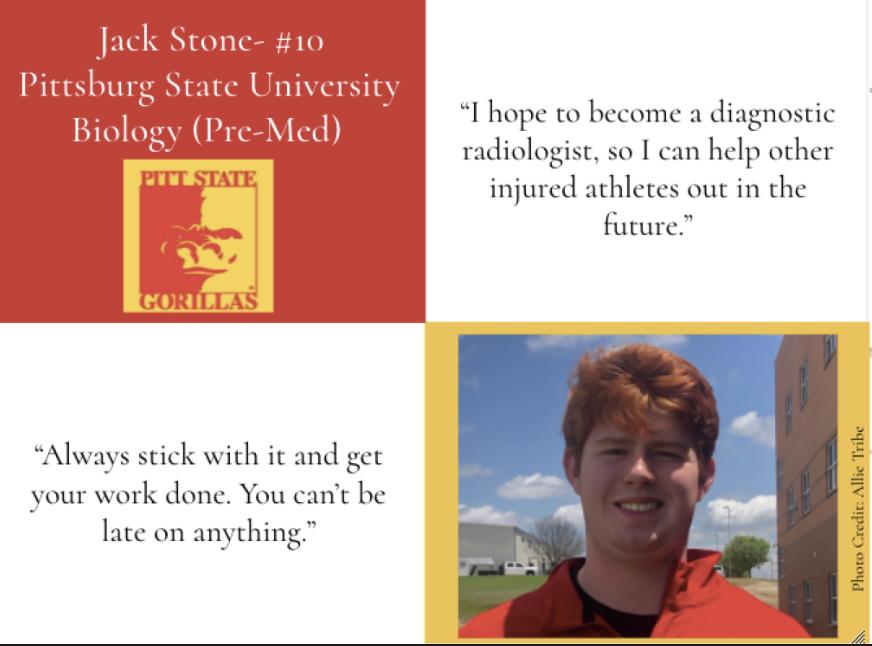 Jack Stone-Top Ten Graduate