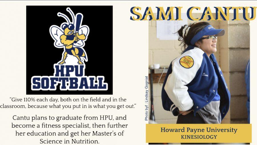 Sami Cantu Signs With HPU for Softball