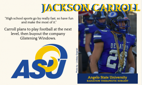 Jackson Carroll Commits to ASU for Football
