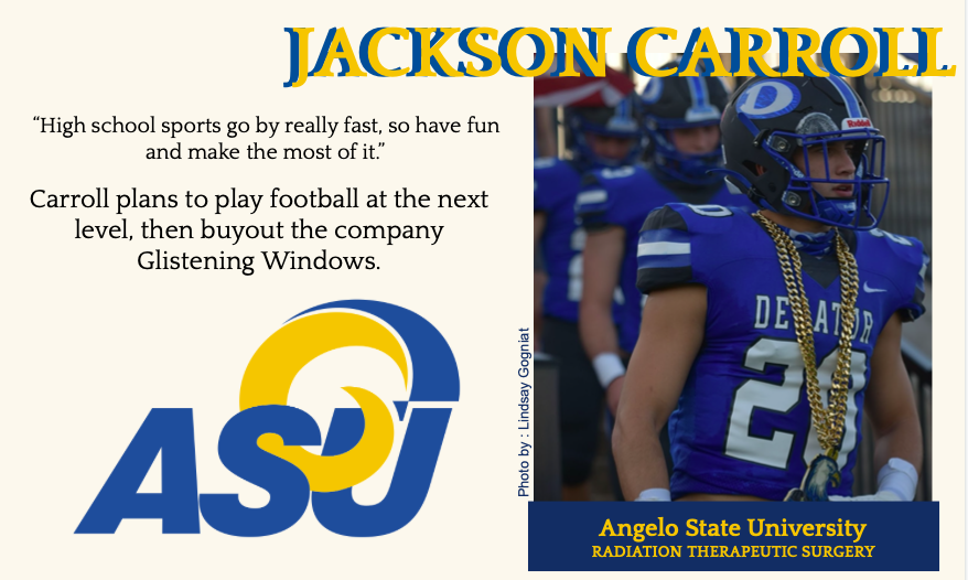 Jackson Carroll Commits to ASU for Football