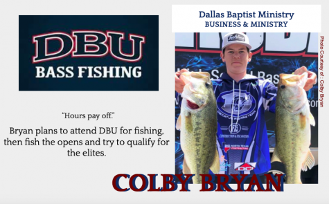 Colby Bryan Signs with DBU for Fishing