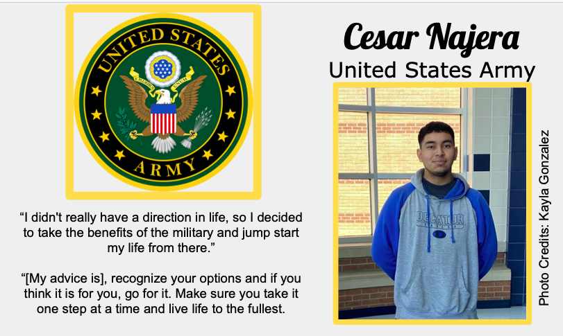 Cesar Najera Signs With US Army