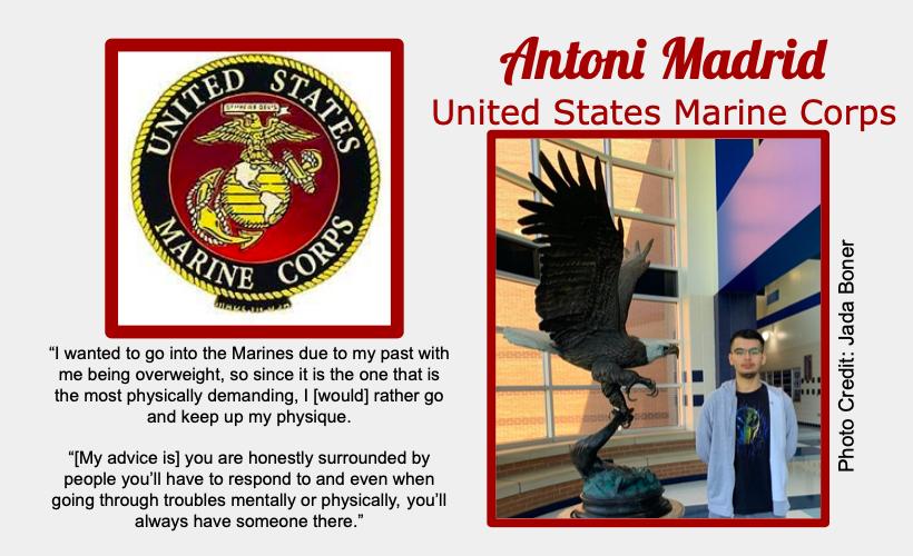 Antoni Madrid Signs With USMC