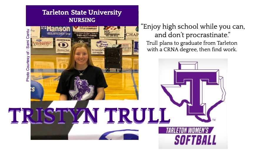 Tristyn Trull Signs With Tarleton for Softball
