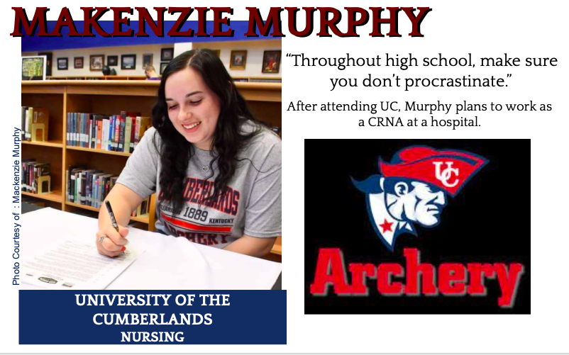Makenzie Murphy Signs with UC for Archery