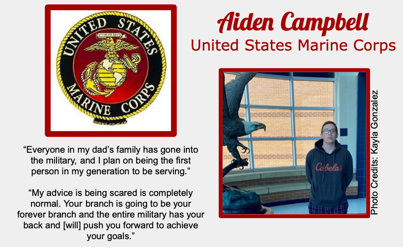 Aiden Campbell Signs With USMC