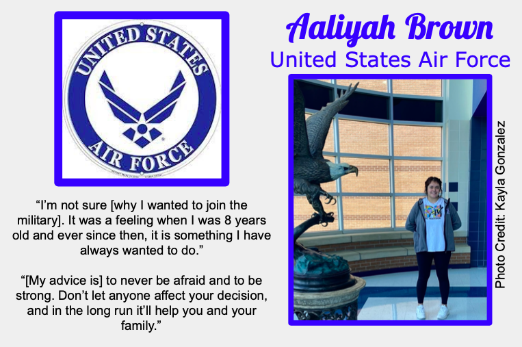 Aaliyah Brown Signs With USAF