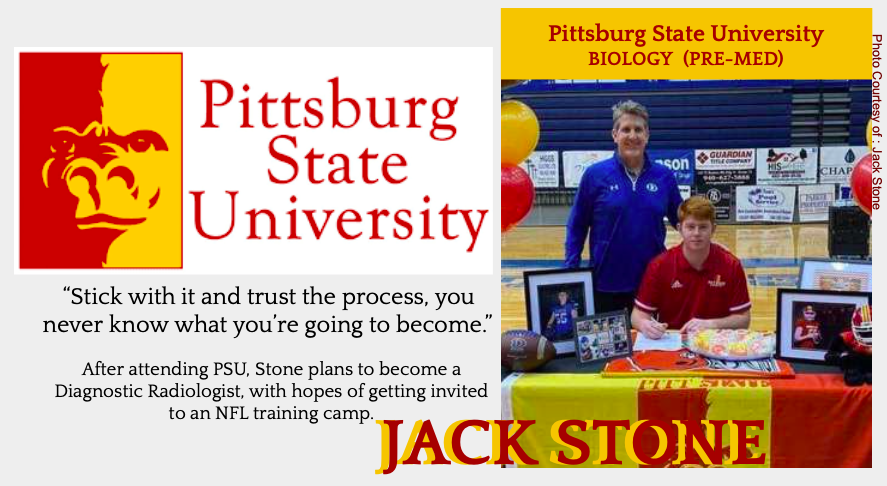 Jack Stone Signs With PSU for Football