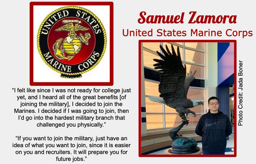 Samuel Zamora Signs With USMC