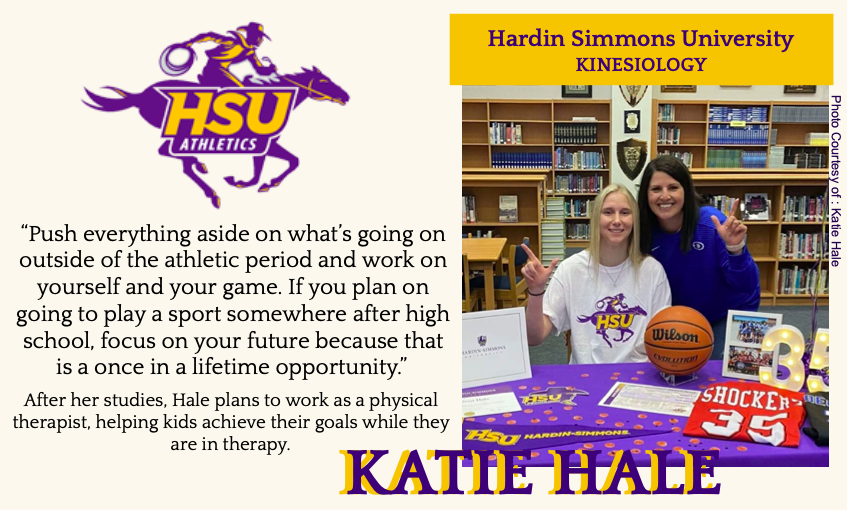 Katie Hale Signs With HSU for Basketball