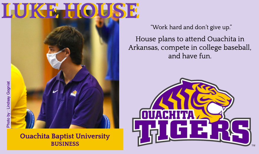 Luke House Signs With Ouachita for Baseball