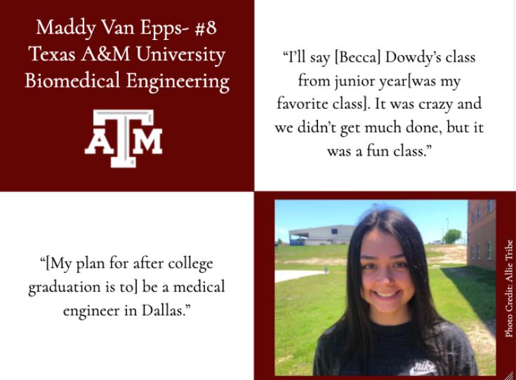 Maddy Van Epps-Top Ten Graduate