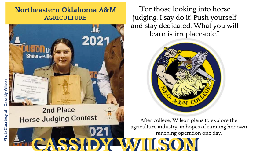 Cassidy Wilson Signs With Northeastern Oklahoma A&M