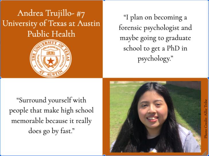 Andrea Trujillo-Top Ten Graduate
