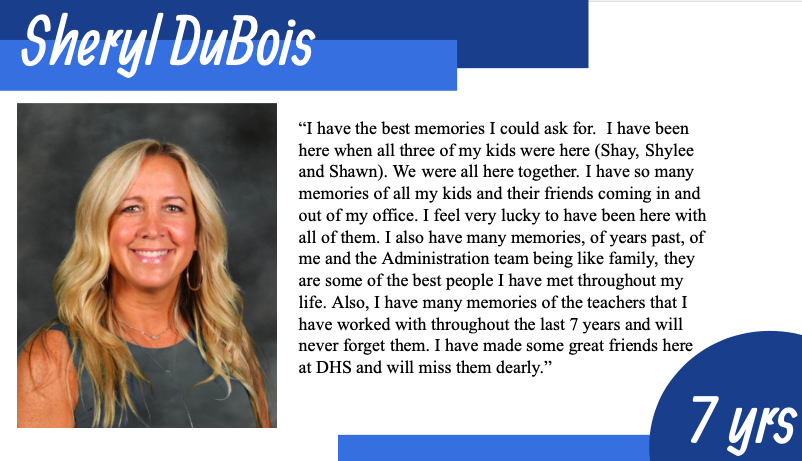 DuBois Says Goodbye to DHS