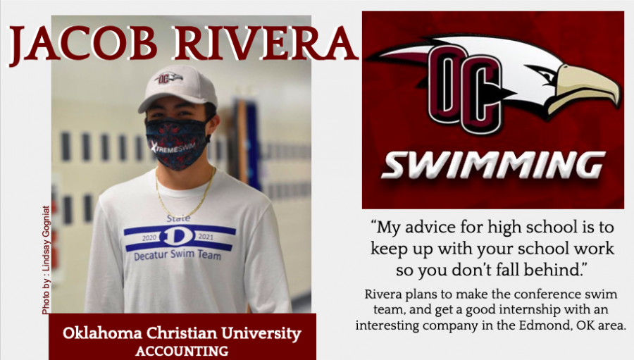 Jacob Rivera Signs With OCU for Swimming