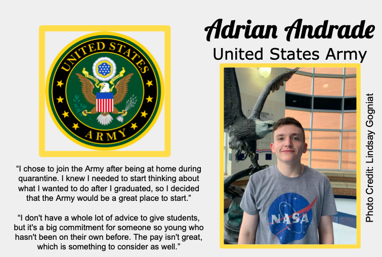 Adrian Andrade Signs with US Army