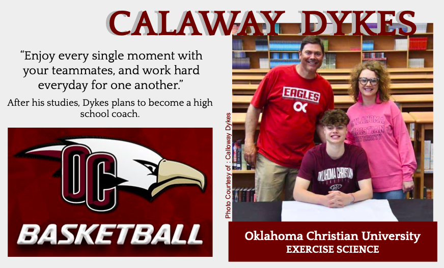 Calaway Dykes Signs With OCU for Basketball