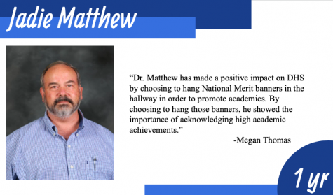 Matthew Says Goodbye to DHS
