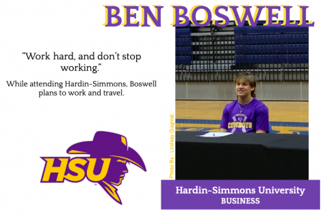 Ben Boswell Signs With Hardin-Simmons for Baseball