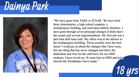 Dainya Park Says Goodbye to DHS