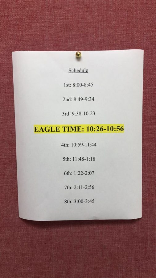 The new period has changed the original DHS schedule.
